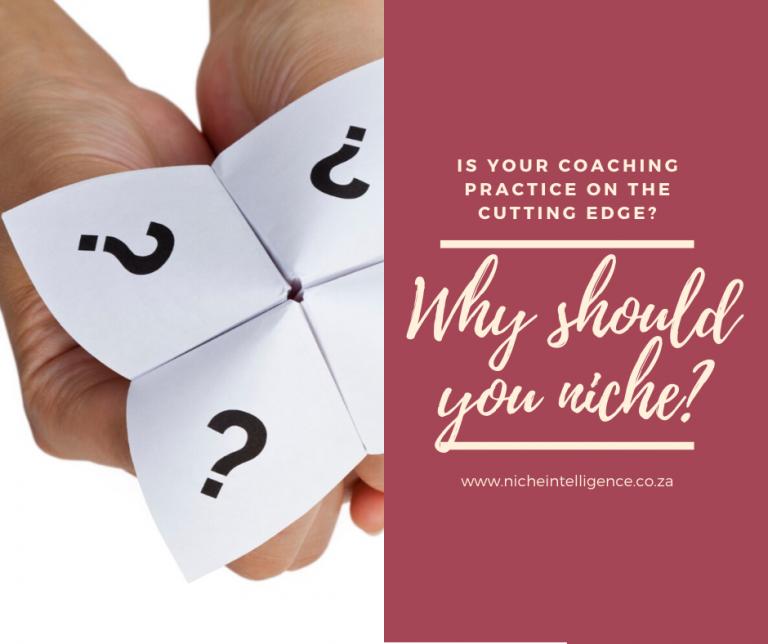 Why should you niche?
