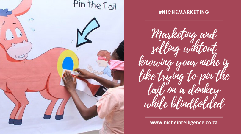 market with intention by knowing your niche